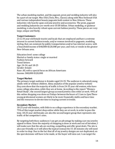 beautician biography exle business plan lacey couture designs