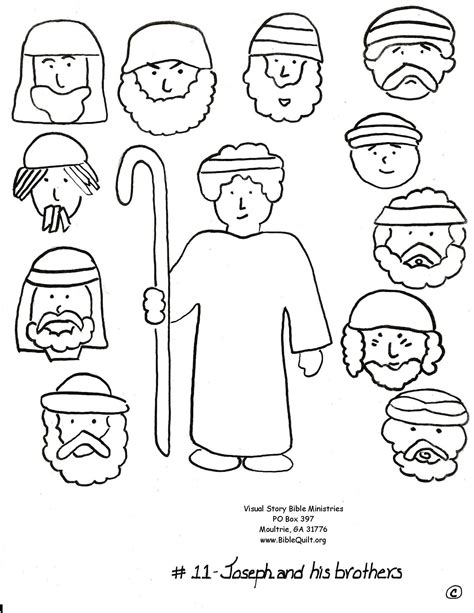 coloring pages for joseph and his brothers joseph and his brothers coloring pages coloring home