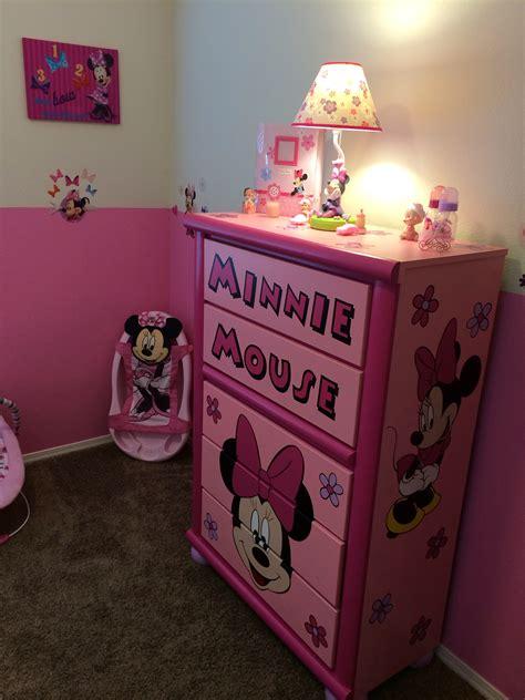 Minnie Mouse Dresser by Custom Minnie Mouse Dresser Minnie Mouse Nursery