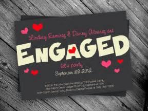 engagement printable invitation