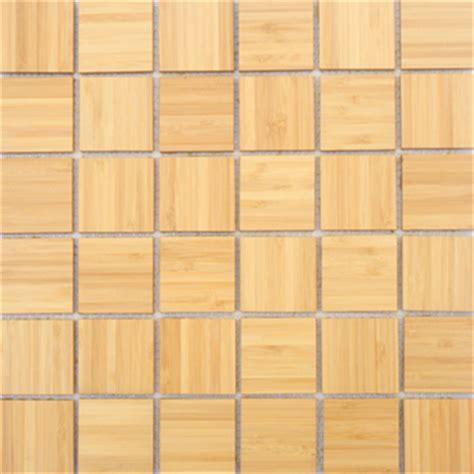 Bamboo Mosaic Tile   New Decorative Material Replacing