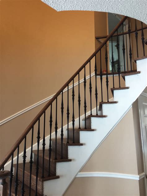 Wrought Iron Pickets Home Renew Stairs