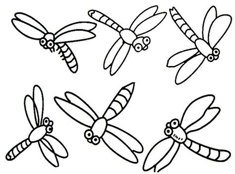 dragonfly coloring book page pages grig3 org