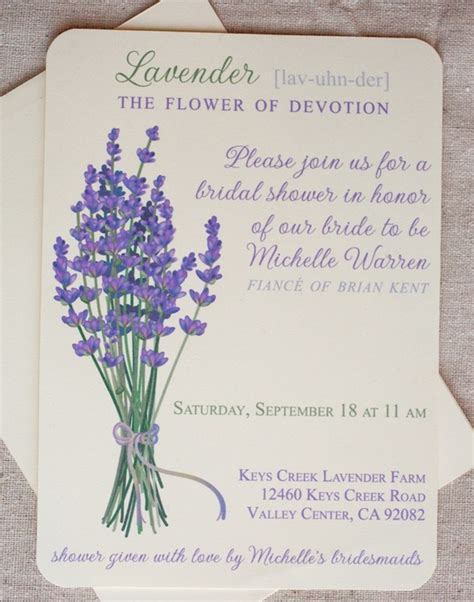 bridal shower invitations i can print at home lavender wedding invitations print at home printable