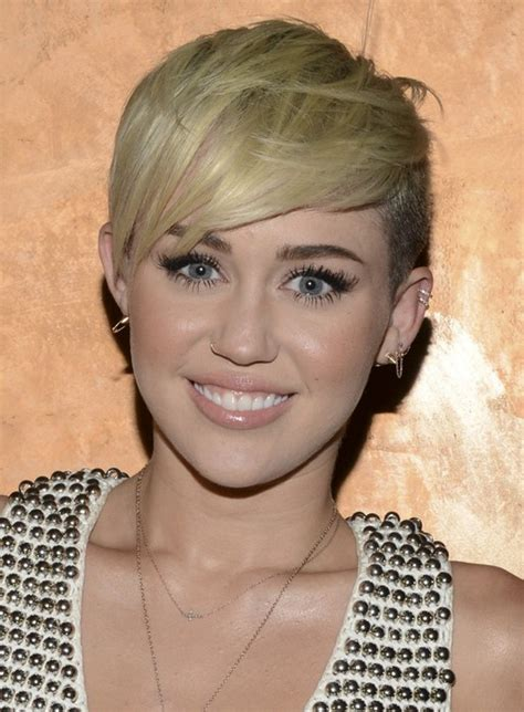 straw hair on people with forehead miley cyrus hairstyles celebrity latest hairstyles 2016
