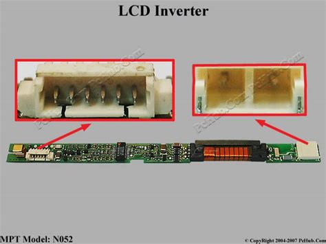 Inverter Lcd 1 Lu mpt n052 lcd inverter mpt n052 83 120063 3000