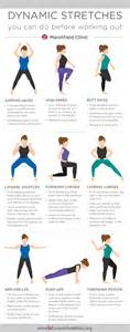 25 best ideas about stretches before workout on