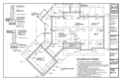 foundation layout exles pin foundation plan for country ranch house on pinterest