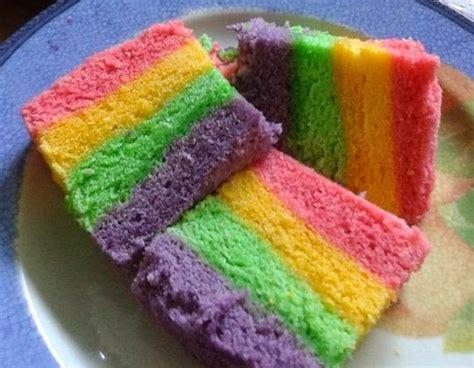 membuat bolu pelangi 4 resep kue buka puasa yang bikin kenyang tapi ramah di