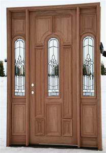 Cheap Wood Front Doors Cheap Entry Doors With Sidelights Feel The Home