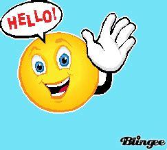 imagenes diciendo hola en ingles fotos animadas emoticono saludando para compartir