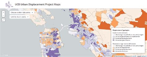 san francisco gentrification map maps mania mapping the gentrification of san francisco
