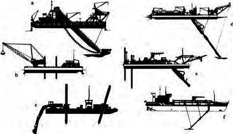 dredging vessels   sand  gravel extraction    scientific diagram