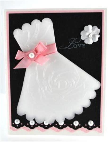 bridal shower card idea with stin up exclusive manhattan flower textured impressions die - Bridal Shower Card Ideas