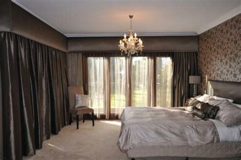 vorhänge schlafzimmer schlafzimmer idee kronleuchter
