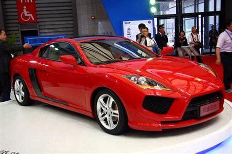 jac motors   chinese sports car