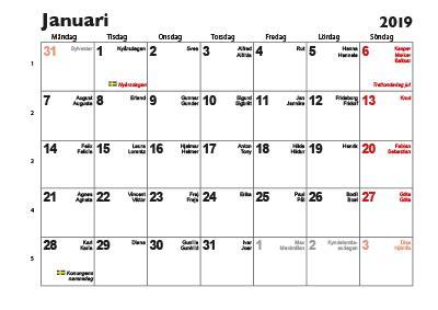 almanacka  se calendars