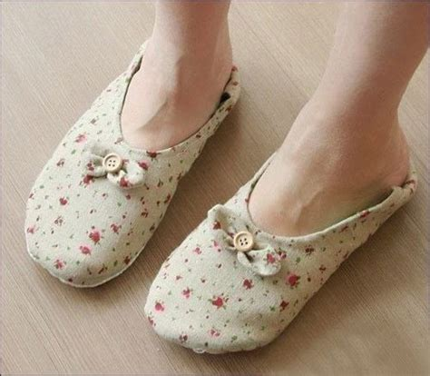 diy fabric shoes diy indoor fabric shoes 183 410