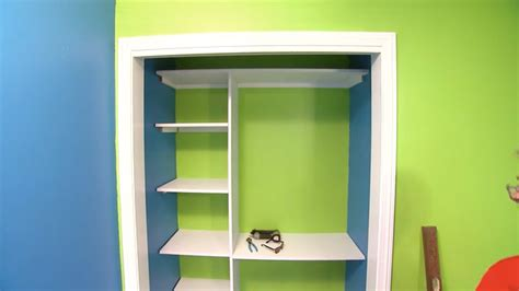 701 1 how build closet shelving