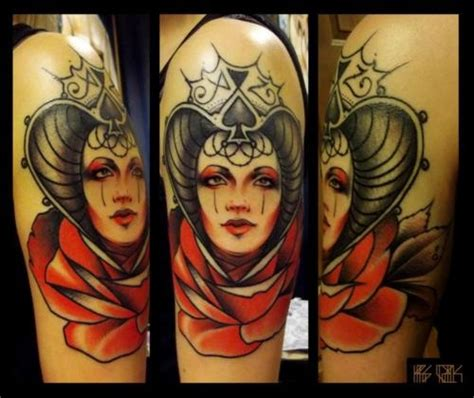 queen ink tattoo huddersfield this is some serious queen of spades ink tattoo queen