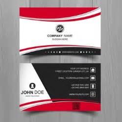 design id card vector tarjetas de presentacion negras fotos y vectores gratis