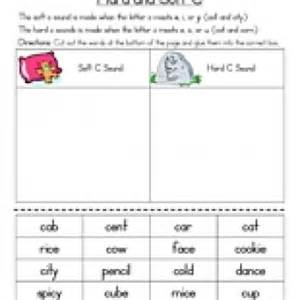 hard c and soft c worksheet have fun teaching