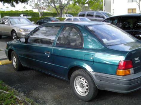 1996 Toyota Tercel Binsmokin392 1996 Toyota Tercel Specs Photos