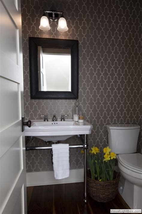 colorful bathroom mirrors 18 best powder room images on pinterest bathroom