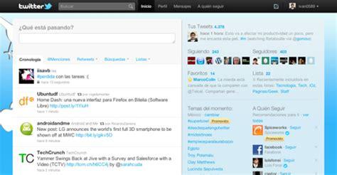 que es layout de twitter 191 empiezas a usar twitter aqu 237 unos consejos de como empezar