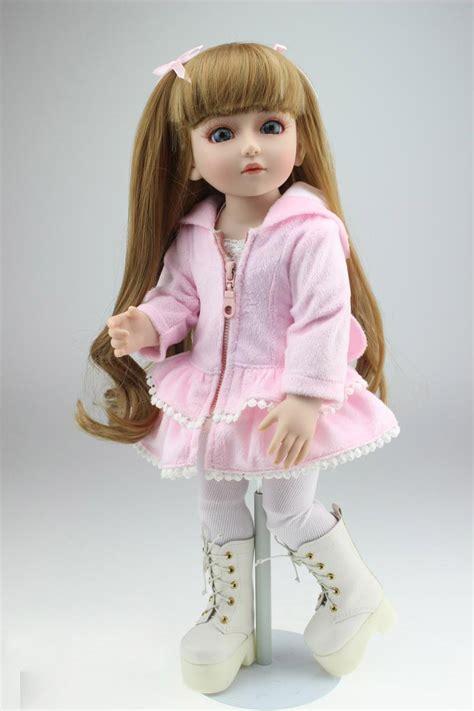 jointed doll vinyl 18 inch 45cm new lifelike vinyl reborn baby doll