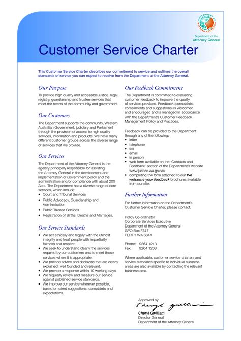 customer care charter template all of the pictures on this website was taken from source