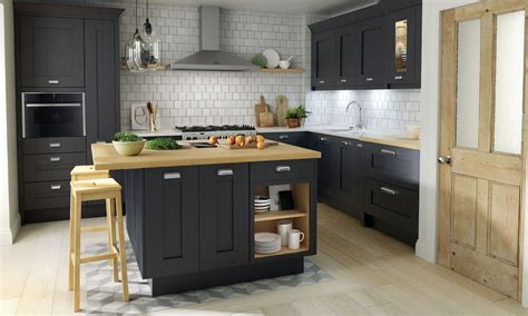 Navy Blue Kitchen Cabinets a classic shaker style fitzroy painted kitchen