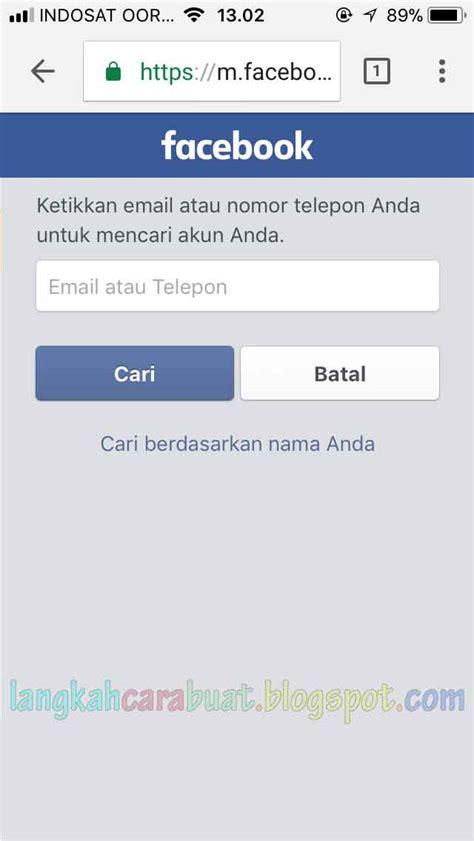 cara membuat facebook menggunakan email cara membuka fb yang lupa kata sandi tanpa menggunakan email