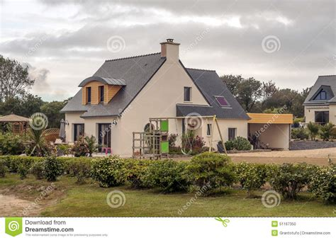 day 36 visit the home alone house novice du jour house in the french brittany stock photo image 51167350