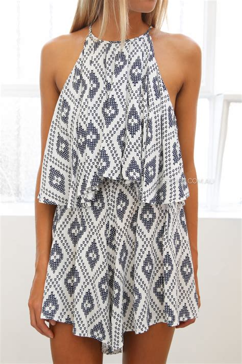 design clothes online australia vernon playsuit navy esther clothing australia and