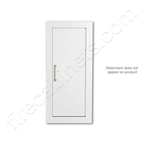 larsen s semi recessed 2 1 2 extinguisher cabinet
