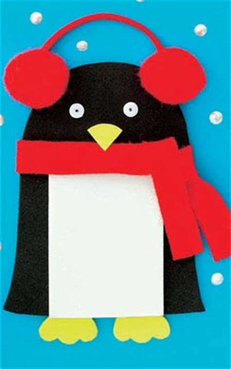 christmas penguin cards goodtoknow