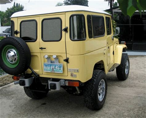 84 / 1984 toyota land cruiser fj40 pictures