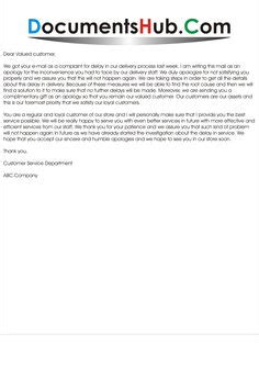 the 50 best apology letter to customer for mistake apology letters to guests