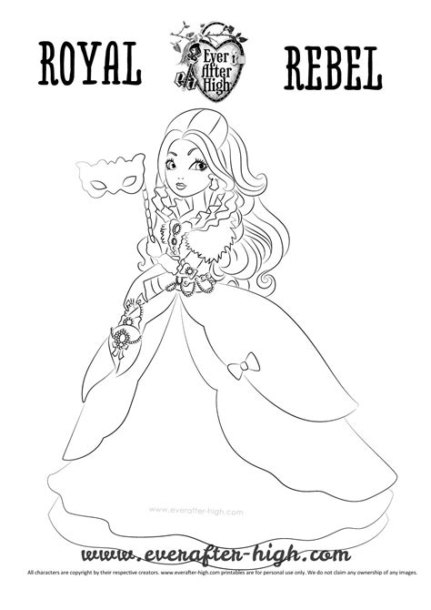 ever after high coloring pages thronecoming apple white thronecoming coloring page ever after high