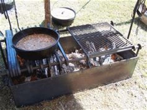 cowboys and chuckwagon cooking building a fire box for c cooking details about bbq pit smoker competition trailer grill no