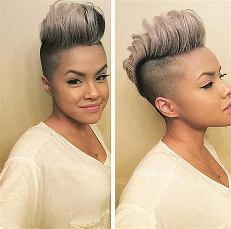 pictures of womens short dark hair with grey streaks 10 pixie hairstyles for gray hair pixie cut 2015
