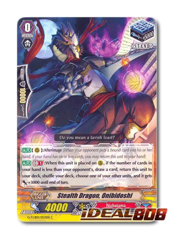 Cardfight Vanguard Singles Stealth Katonslayer stealth onibidoshi g tcb01 053en c cardfight
