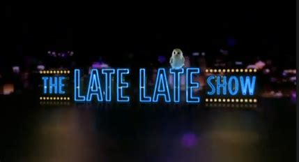 the late show the late late show irish tv series wikipedia