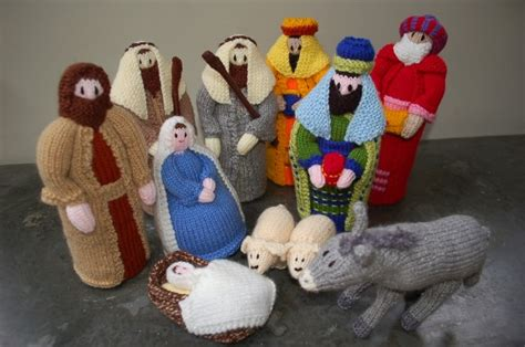 knitting pattern nativity christmas trends the knitted nativity the womens room
