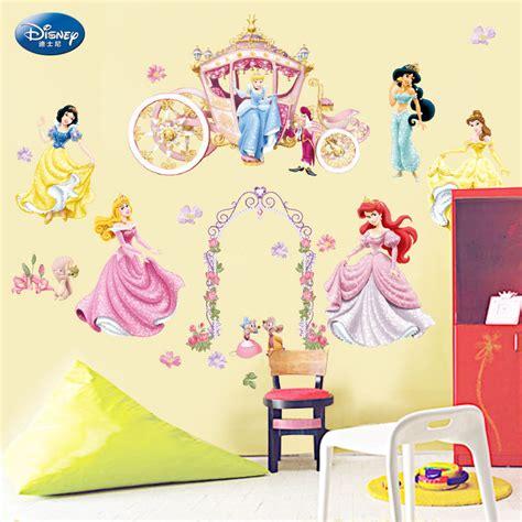 disney princess wall stickers nursery vinly decal