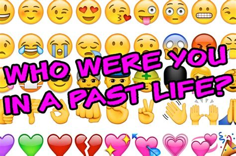 emoji quiz buzzfeed this emoji quiz will tell you what you did in your past