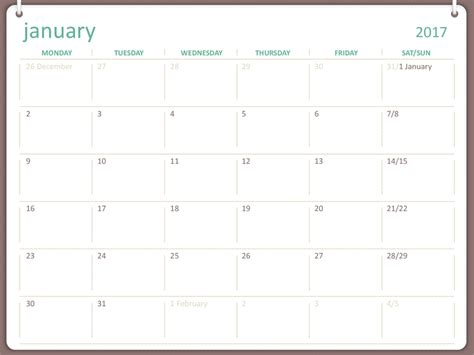 microsoft calendar template calendars office