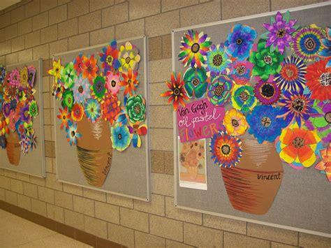 spring painting ideas art at becker middle school an overview of projects