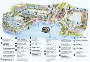 map of celebration florida celebration florida